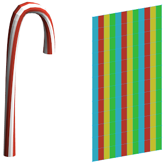 Zach Kron Candy stripes to facade
