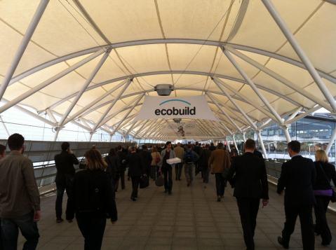 Ecobuild day 1 - Photos